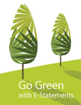 Go Green with eStatements